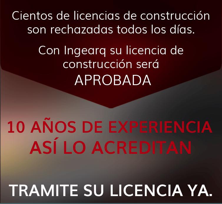 licencias de construccion arquitectos